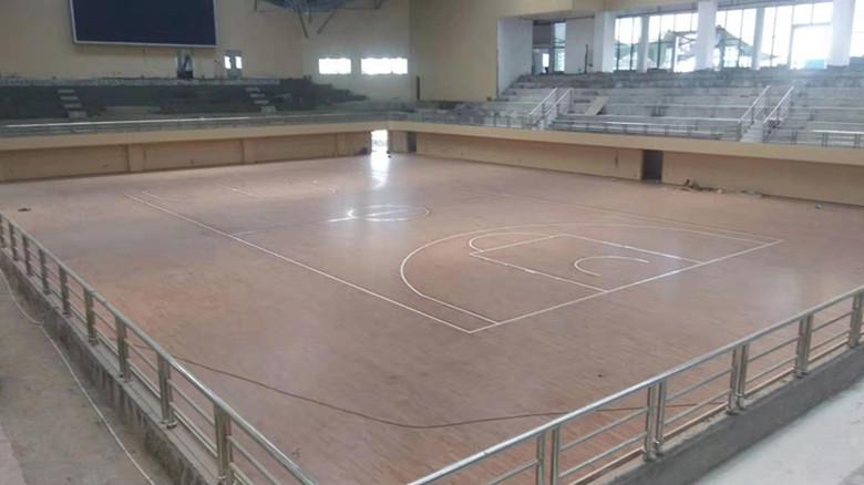 甘肃篮球馆木地板