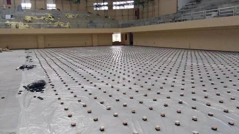 广州比赛专用篮球馆木地板