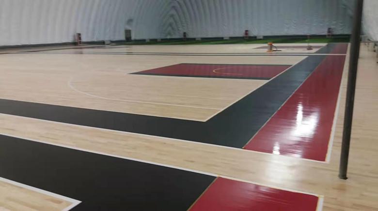 广安篮球馆运动木地板价格