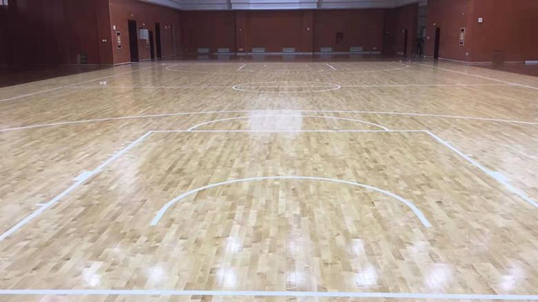 克拉玛依篮球馆运动木地板