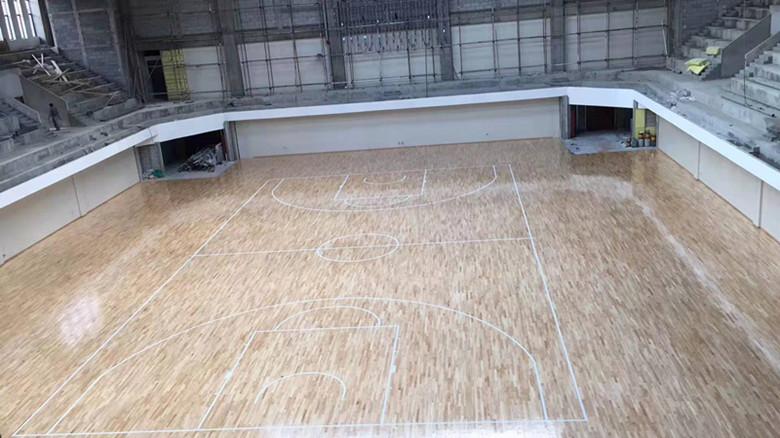 佛山篮球馆运动木地板翻新