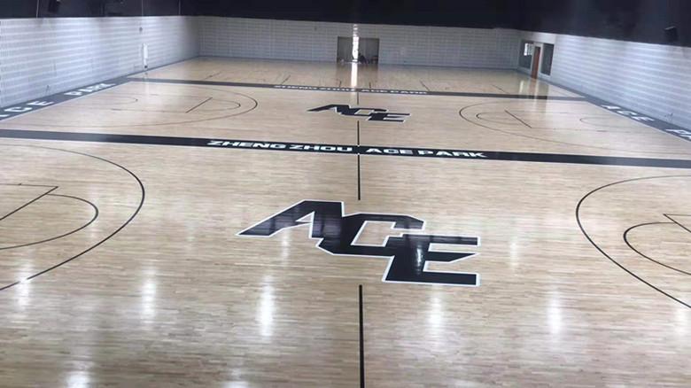 蚌埠篮球馆运动木地板批发