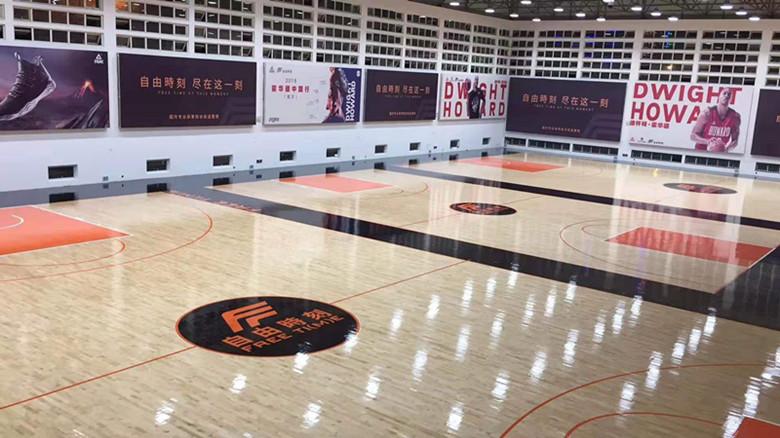 桂林篮球馆运动木地板翻新