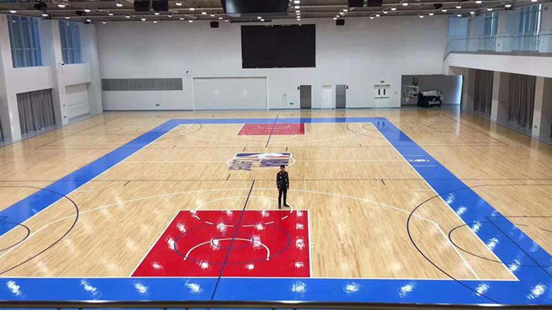 黄南篮球馆运动木地板