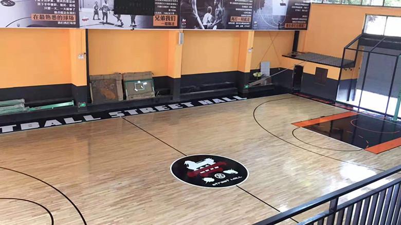 楚雄篮球馆运动木地板翻新