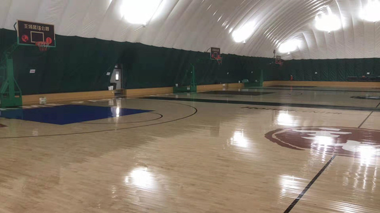 河南篮球馆运动木地板批发