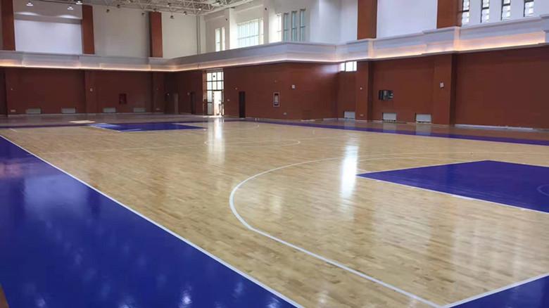 巴中篮球馆运动木地板价格