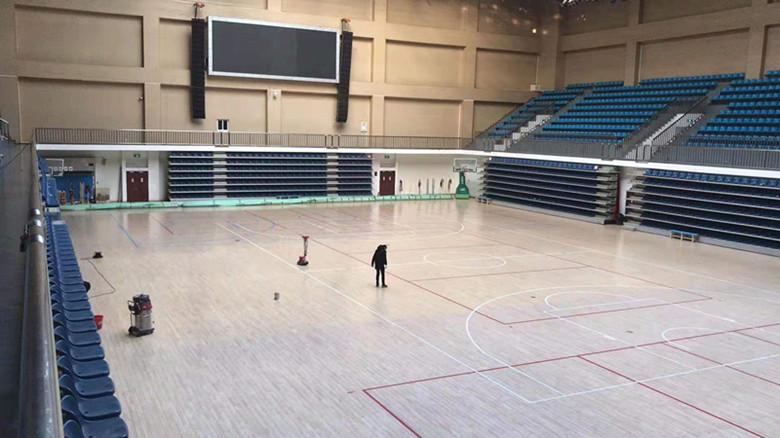 汕尾篮球馆运动木地板