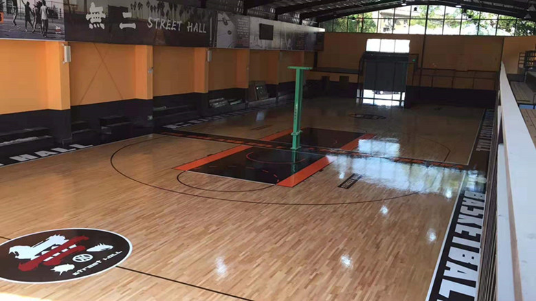 赣州篮球馆运动木地板价格