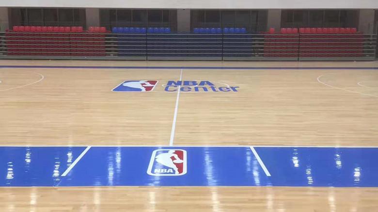 福建篮球馆运动木地板翻新