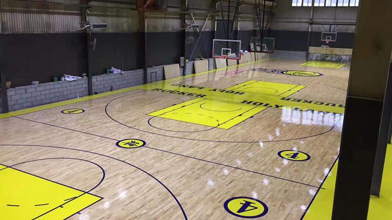 塔城篮球馆运动木地板