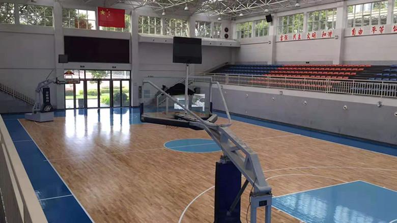 阿勒泰篮球馆运动木地板
