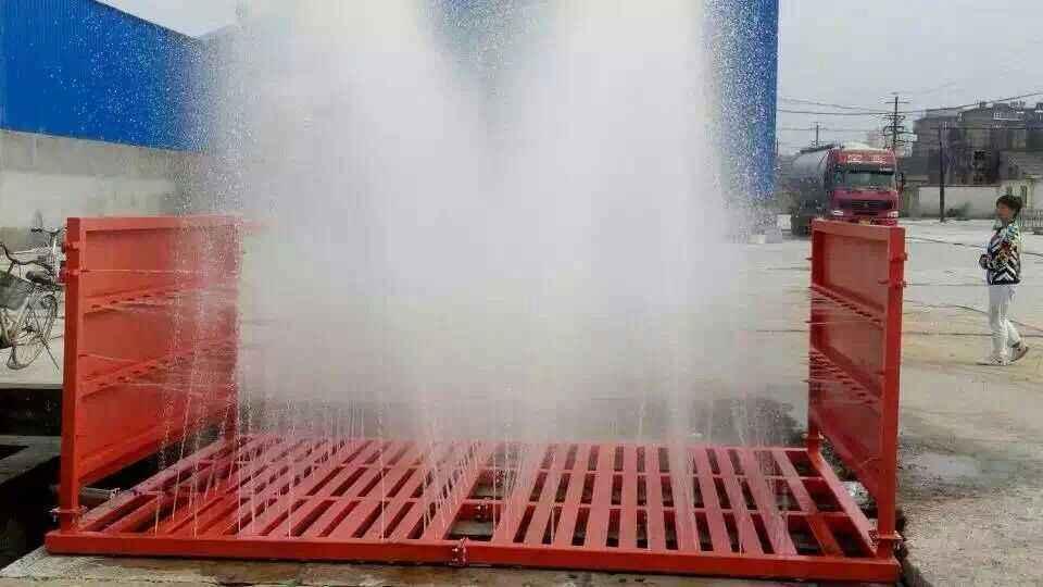 工程洗车机可有效减少环境污染