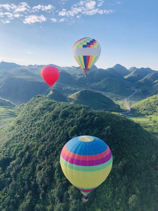 攀枝花热气球广告宣传