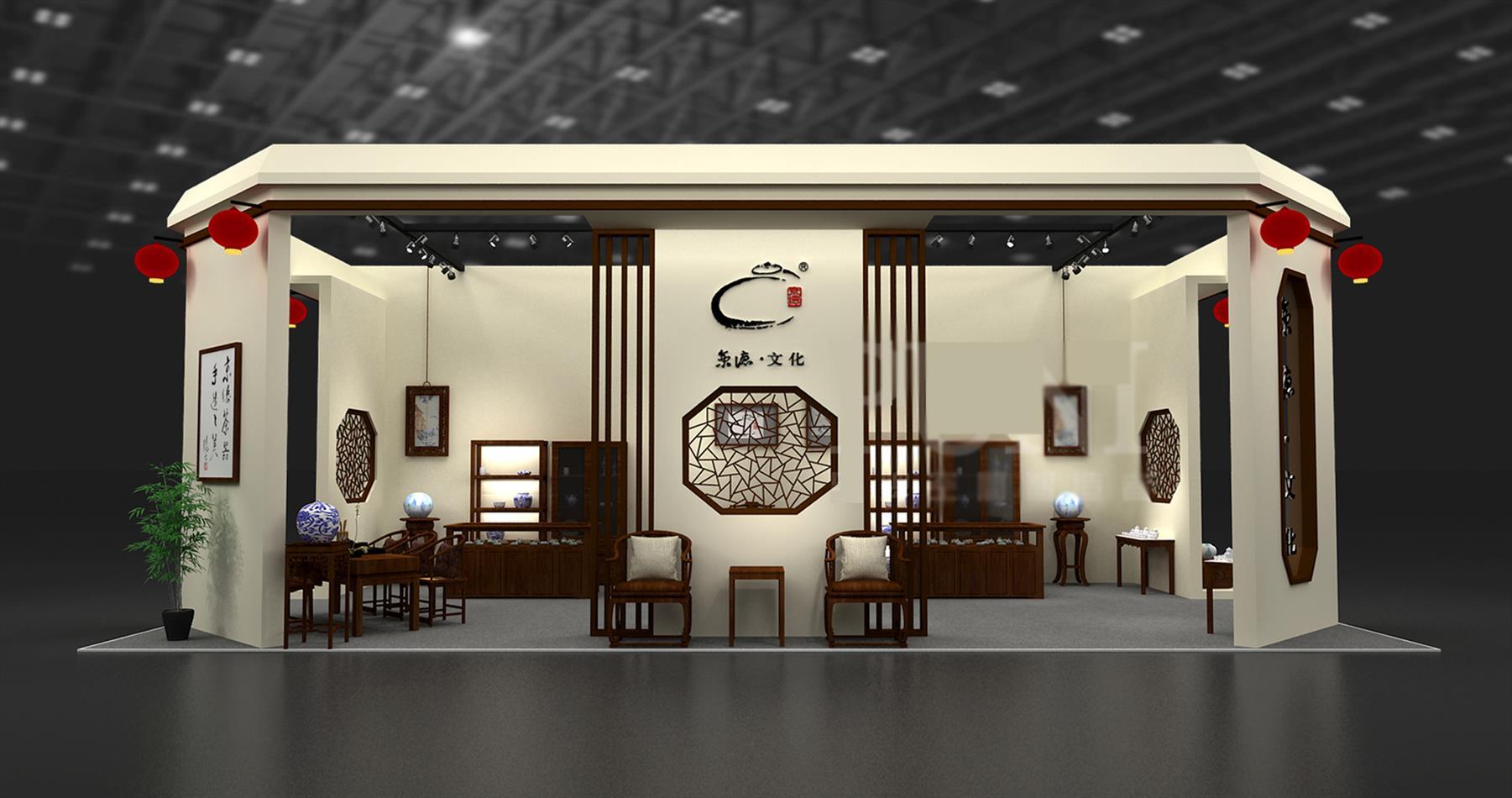 深圳茶博会设计搭建