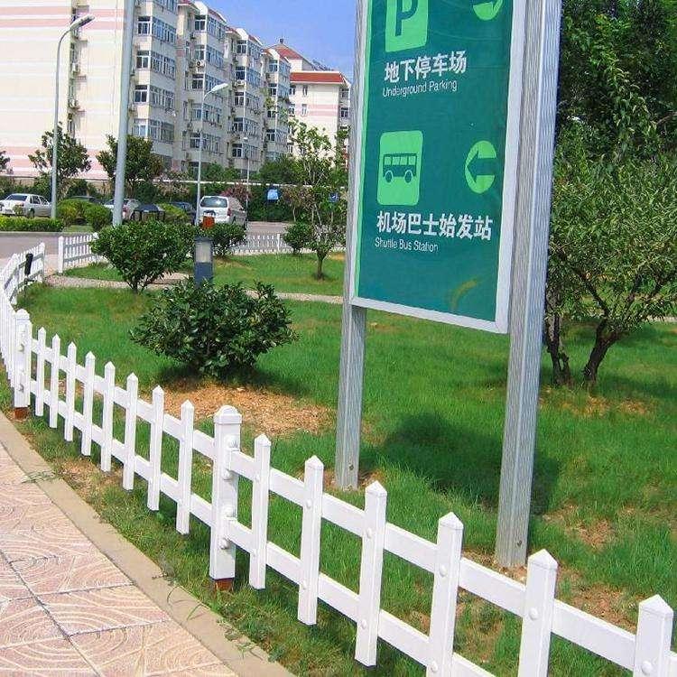 揭阳塑钢护栏厂商 pvc道路塑钢护栏 马路隔离栏