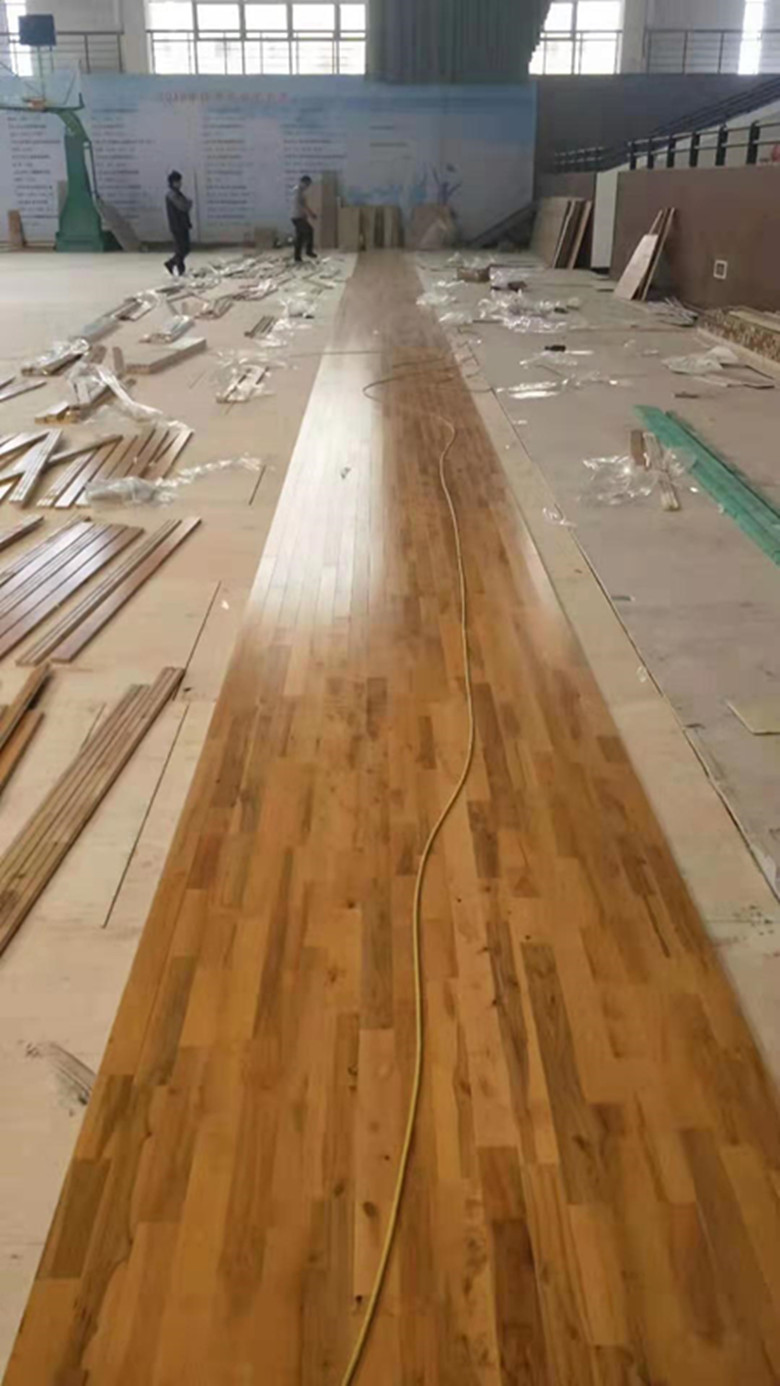 华容运动木地板维修价格