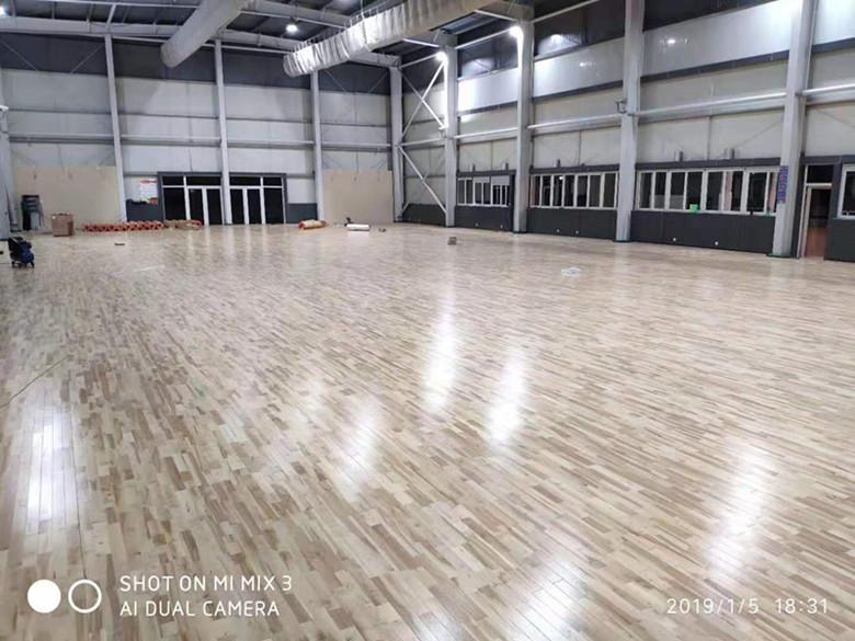 潍坊枫木羽毛球木地板