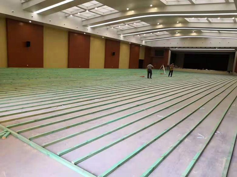 武鸣县篮球馆木地板维修