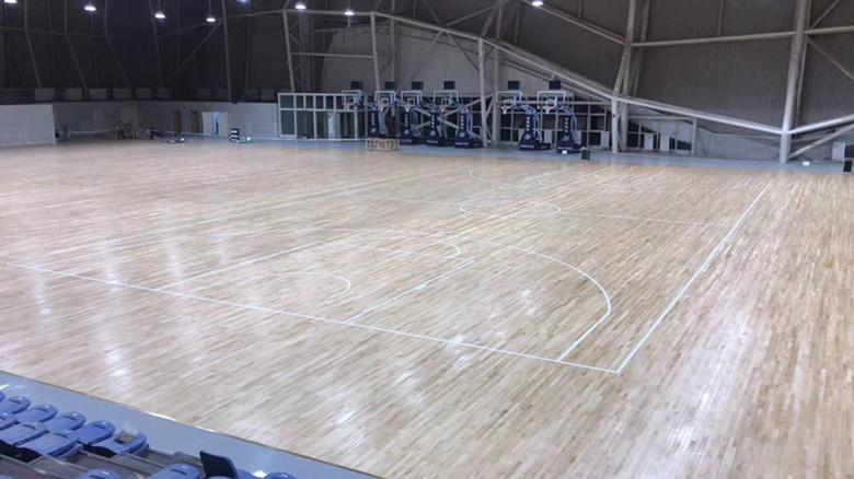 惠东县篮球馆木地板维修