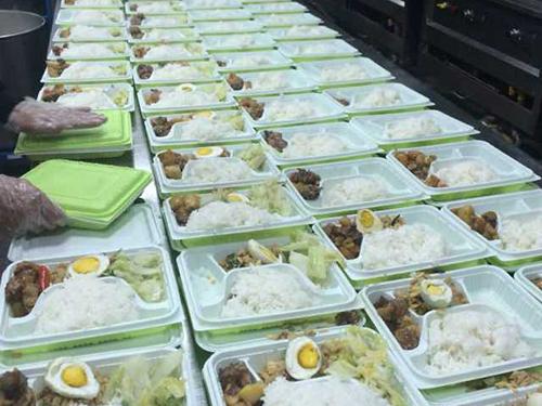 增城团体餐配送公司