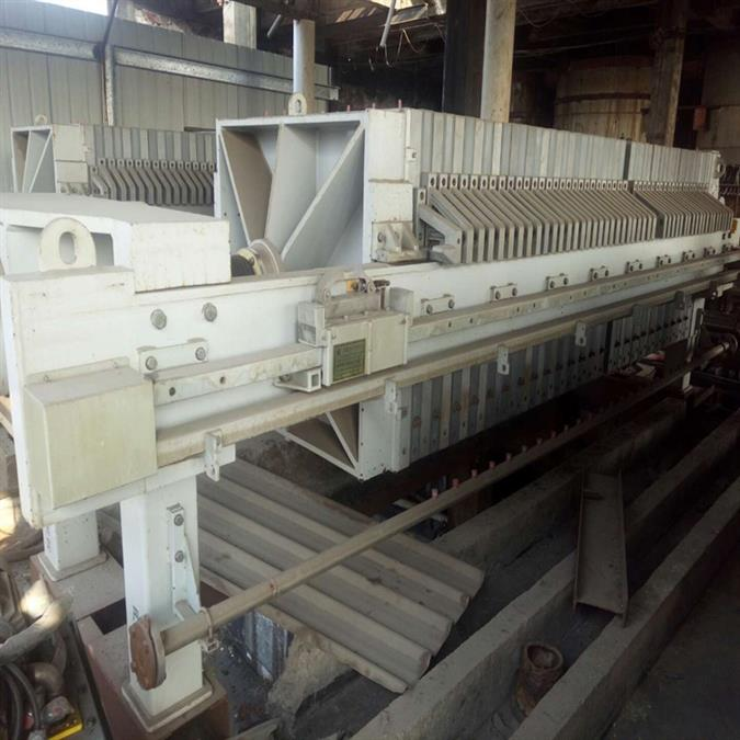 二手造纸废液MVR强制循环蒸发器出售