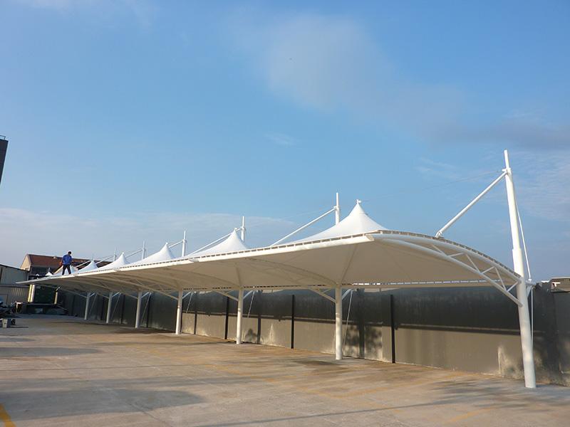 杭州环保膜结构车棚厂商