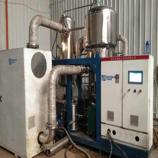 二手制胶废水MVR强制循环蒸发器出售