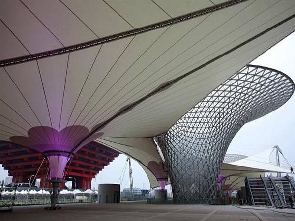 上海膜结构景观棚出租