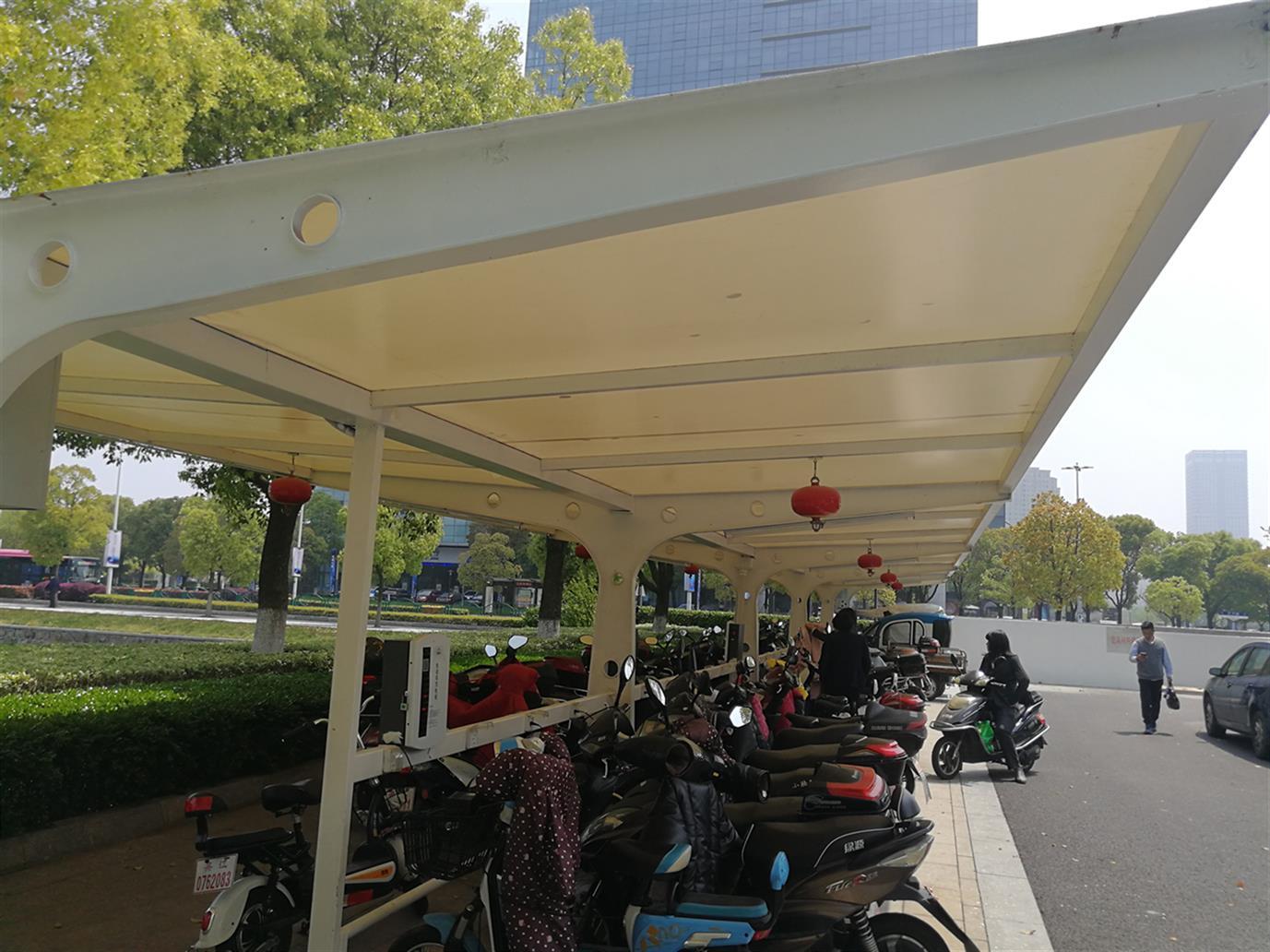 杭州绿色自行车车棚生产商