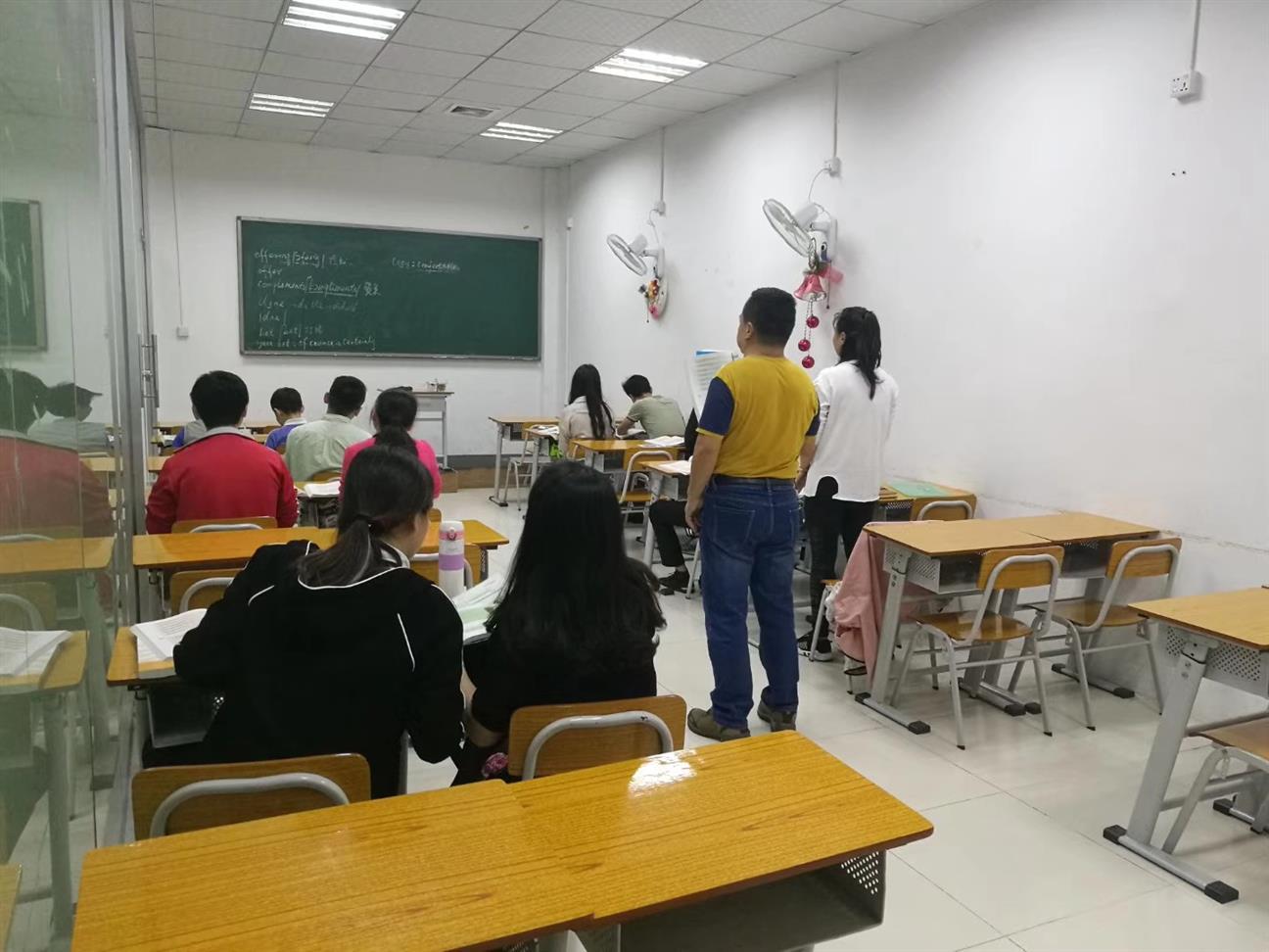 章阁深圳东方英语培训班