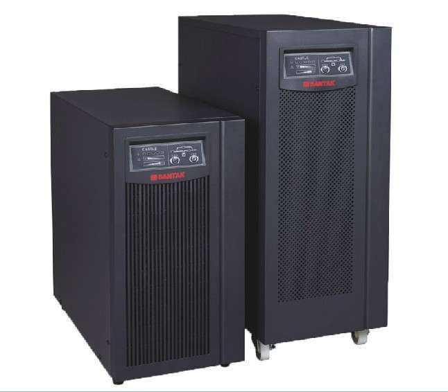 山特UPS稳压不间断电源1KVA延时配置