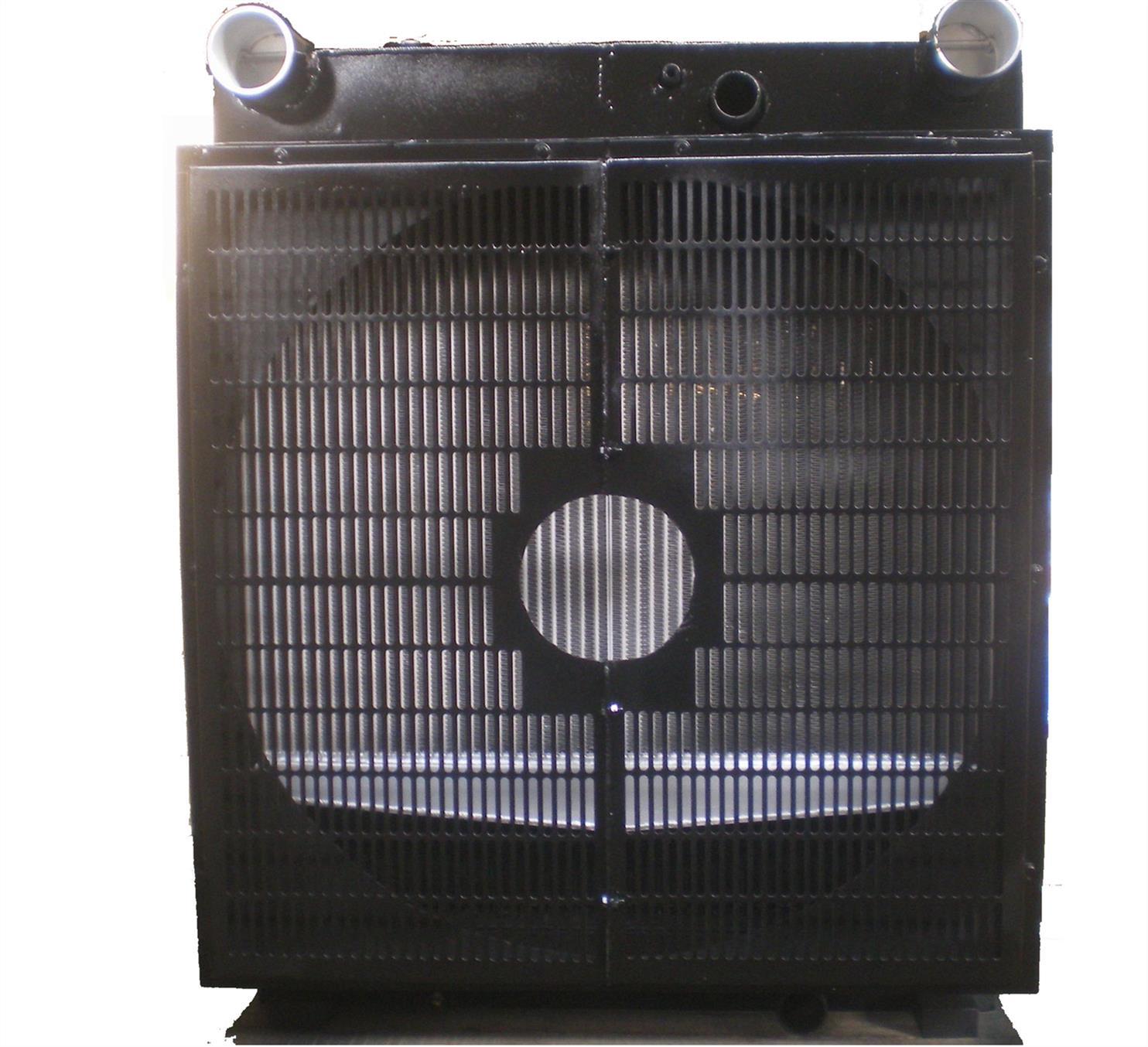 康明斯发动机散热水箱