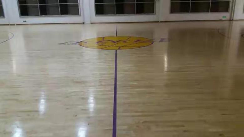 酒泉羽毛球馆木地板