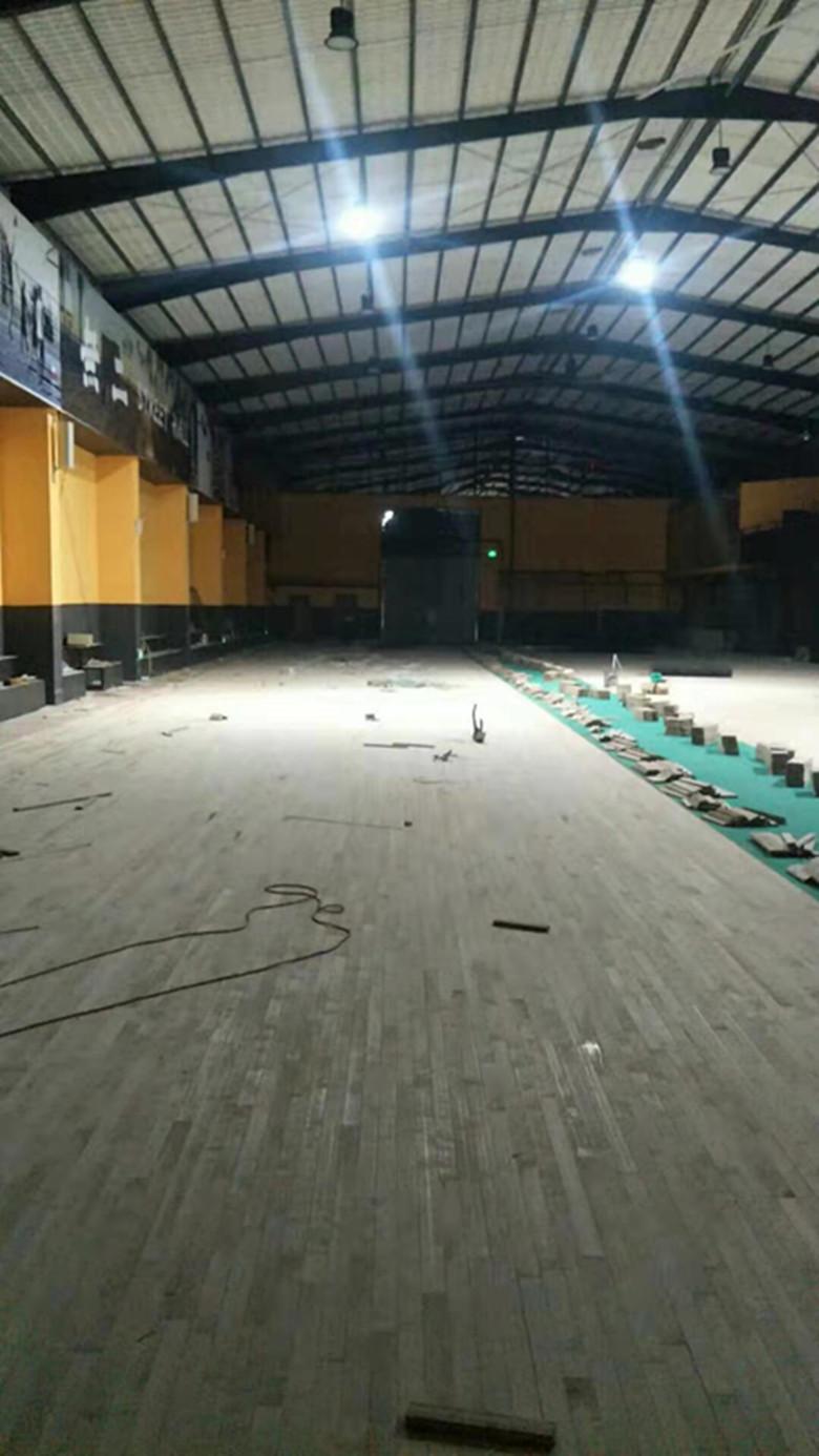 赣州羽毛球馆木地板