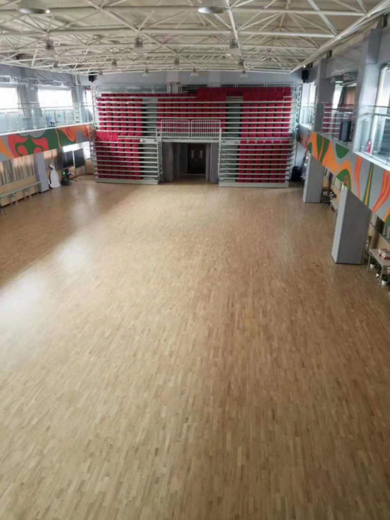赫山区桦木羽毛球馆木地板厂