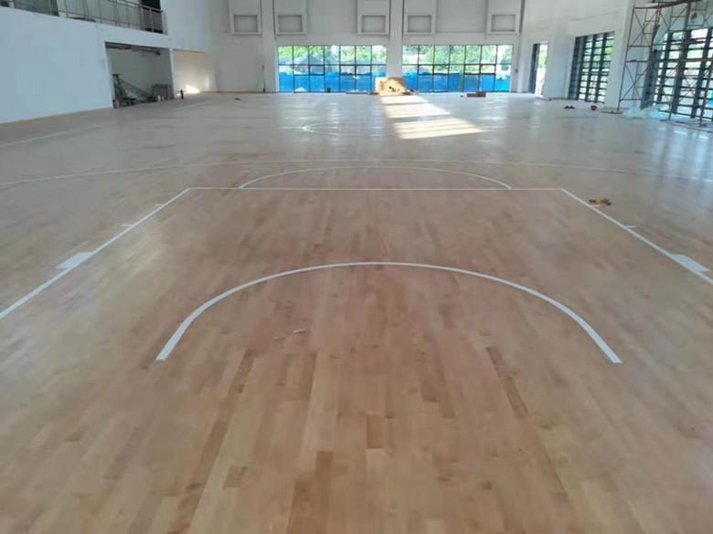荆州羽毛球馆木地板