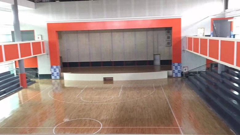华容县羽毛球馆运动木地板