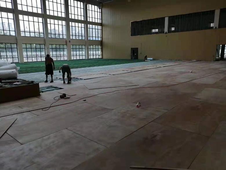 永州桦木羽毛球馆木地板出售