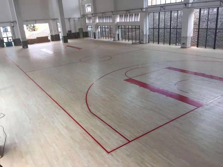 新晃县桦木羽毛球馆木地板厂