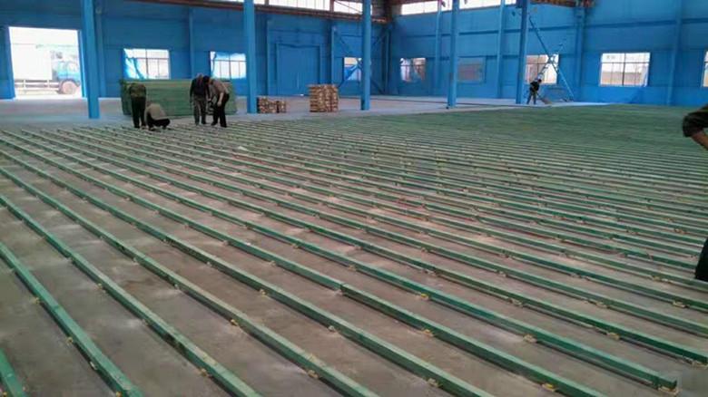 橡胶木羽毛球馆木地板公司