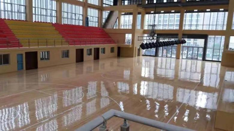 雅安羽毛球馆木地板