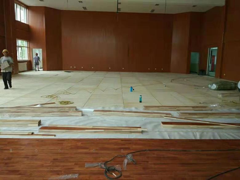安阳羽毛球馆木地板