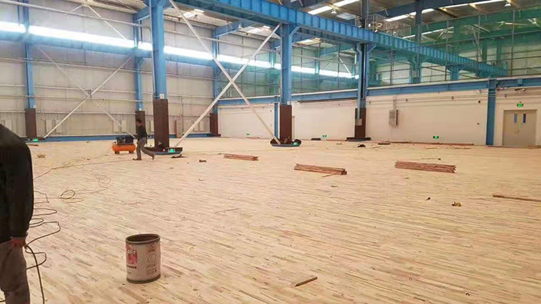 东营体育馆木地板厂家