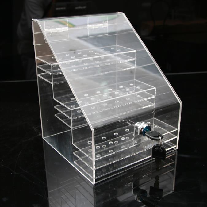 湖北亚克力盒子生产厂家 食品展示盒 可满足不同用户的需求