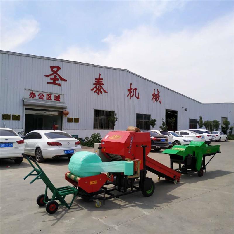 北京玉米秸秆包膜机青储打包机价格