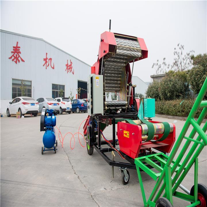桂林牛羊饲料打捆机青储打包机厂家直销