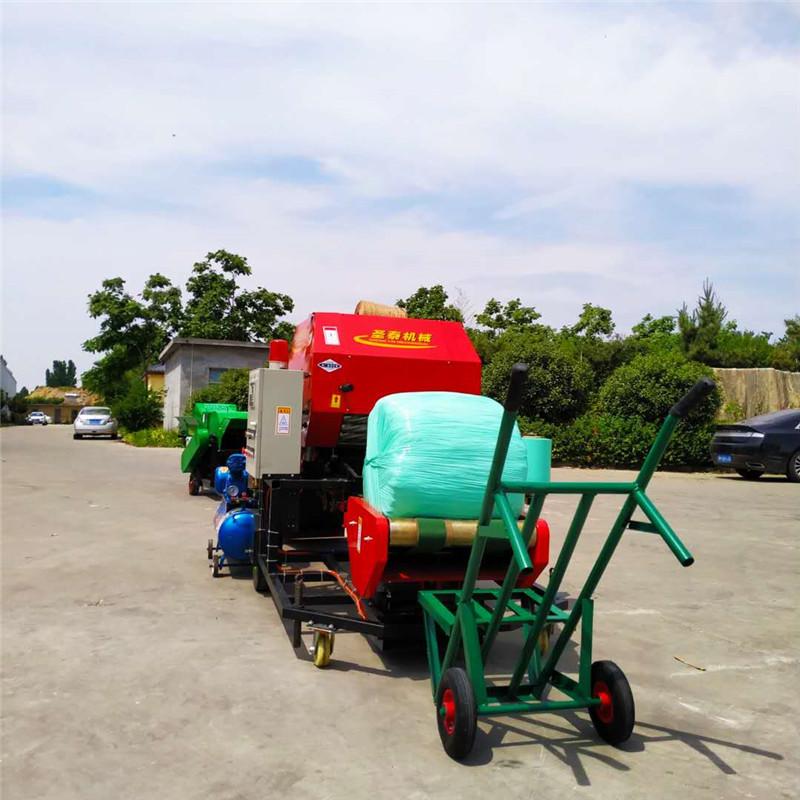 邯郸自动打捆包膜机青储打包机生产厂家