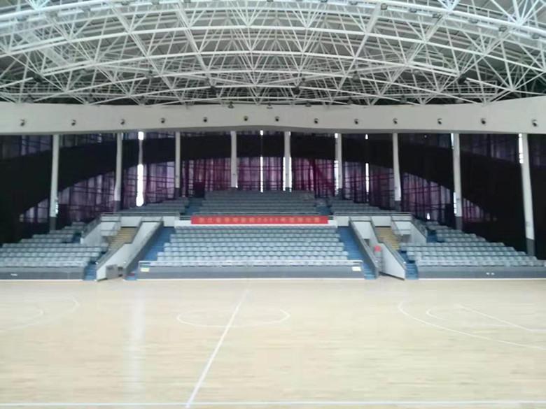 青海硬木企口体育馆木地板