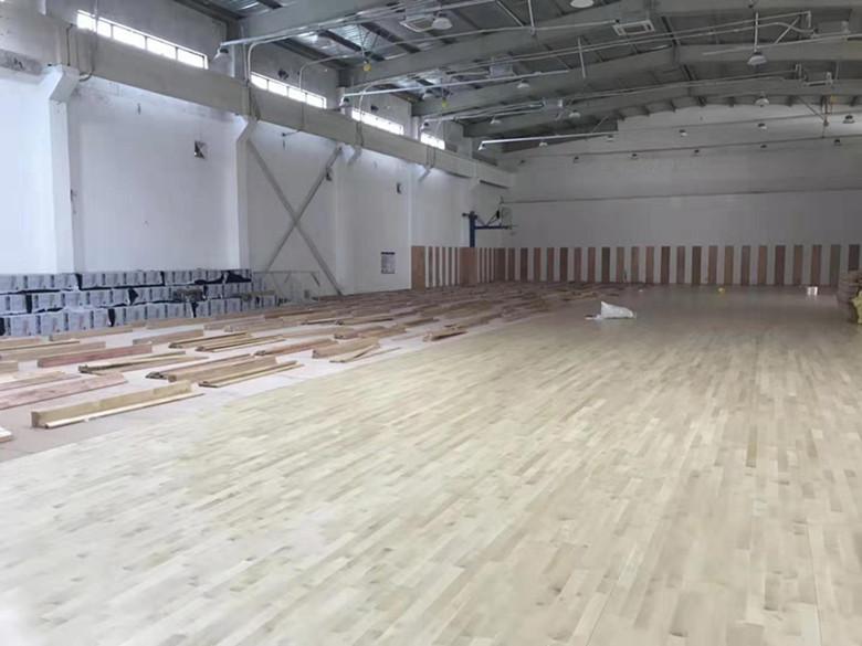 昌吉硬木企口体育馆木地板厂
